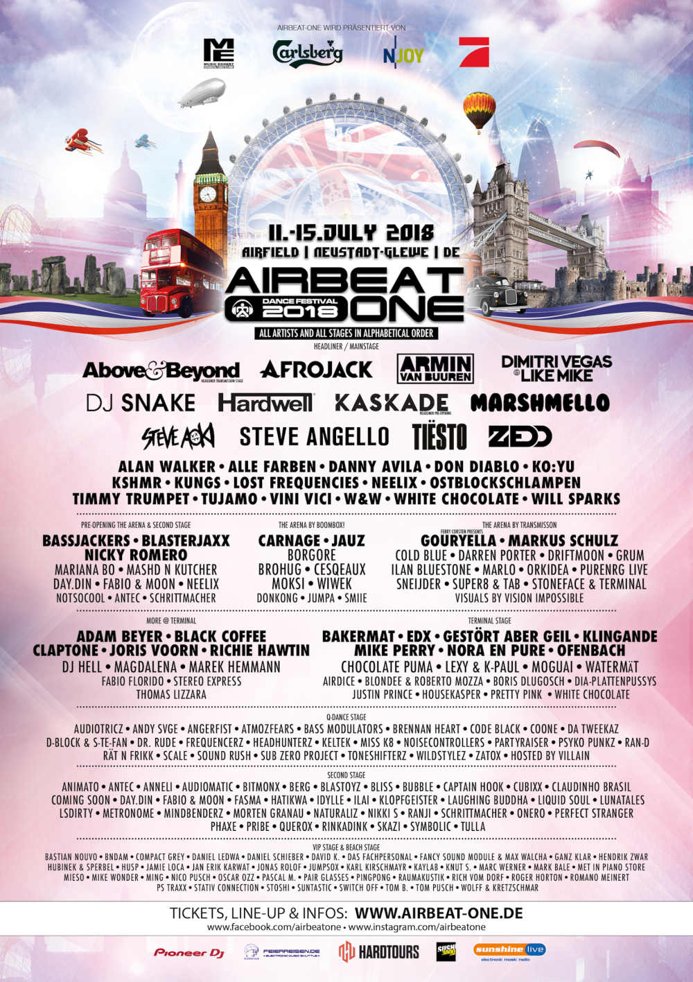 Airbeat One Lineup 2018