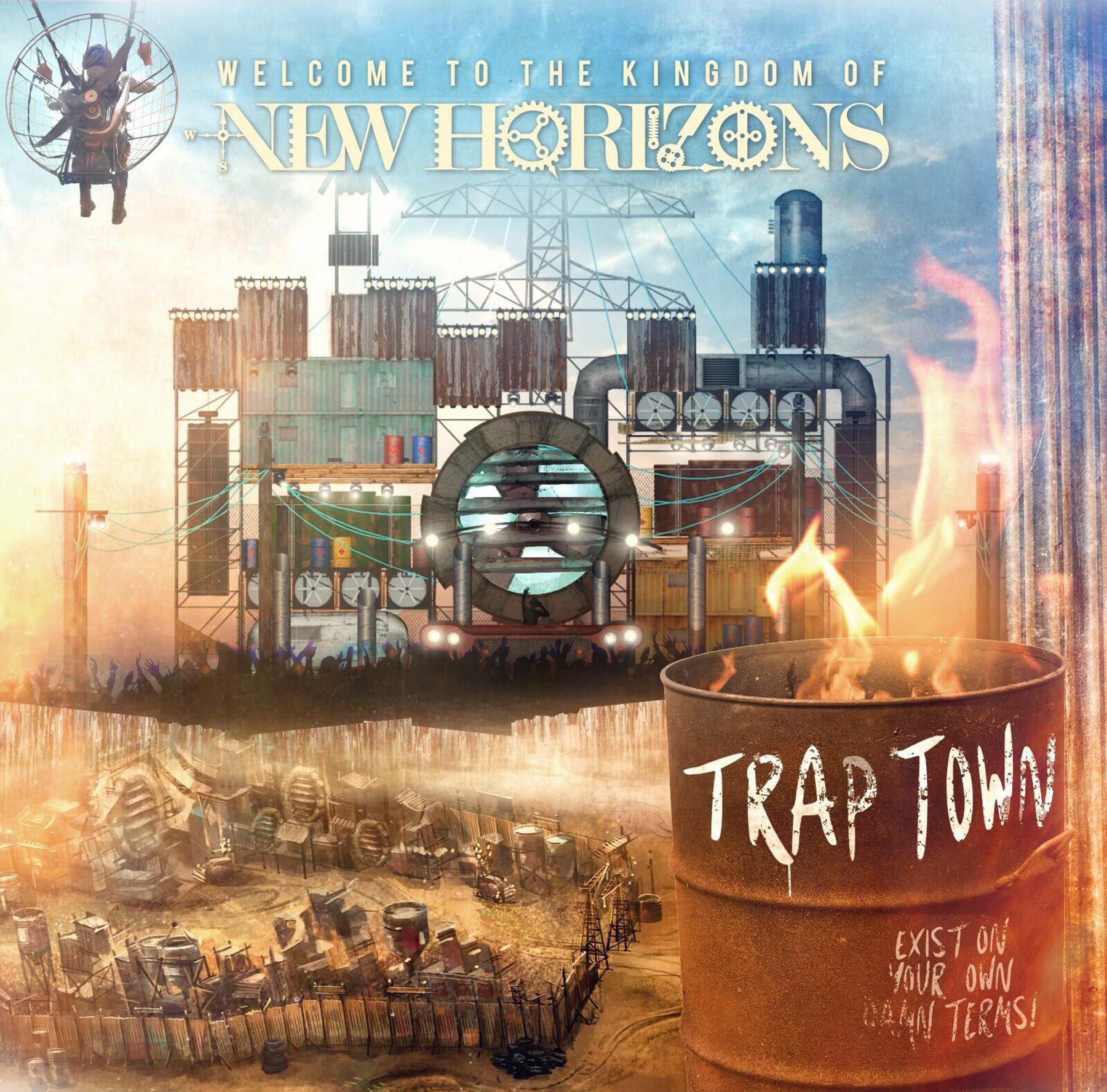 NEW HORIZONS FESTIVAL 2017 – Trap Town World